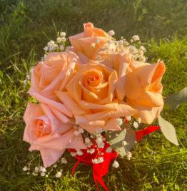 Купить шляпную коробку с французской розой в Минске